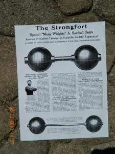 Ad for Strongfort Jr