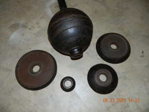 Strongfort Jr Bar-bell plates