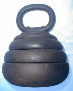 Strongfort kettle weight